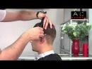 Владлен Ефименко - Мужская стрижка с пробором 2015 | AD studio TV | www.vi-profi.com.ua
