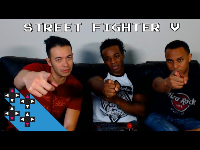 Street Fighter V with Cross Counter TV's Gootecks and Mike Ross UpUpDownDown Plays