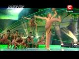 Танцуют все 4. Прямой эфир. Африканский танец 21.10.2011