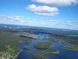 Озеро Селигер.  Жемчужина России.