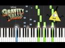 Gravity Falls - Opening Theme/Weirdmageddon Piano Tutorial