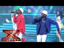 We've gotta feeling Reggie 'N' Bollie are having a good night Semi Final The X Factor 2015