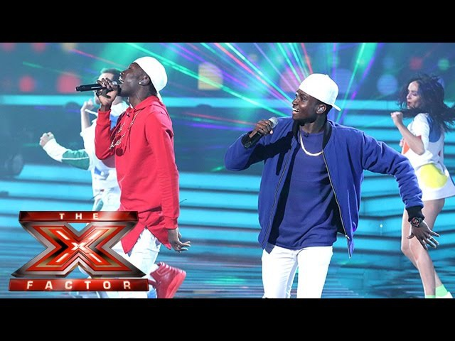 We've gotta feeling Reggie 'N' Bollie are having a good night Semi Final The X Factor 2015 смотреть онлайн без регистрации