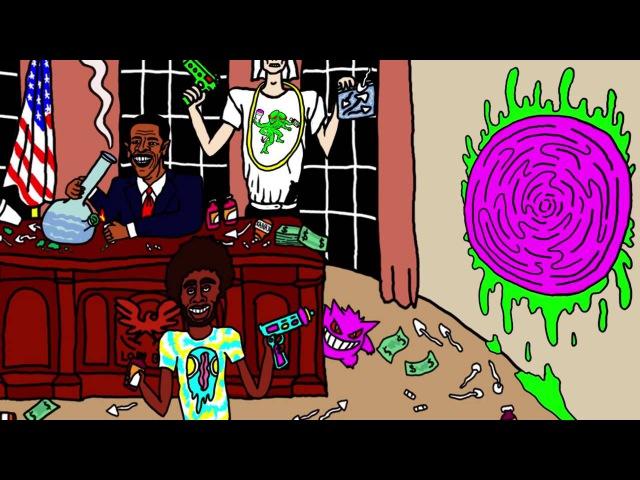 DJ Smokey Feat. Lofty305 Ruben Slikk - Mushroom Island Monsters (Official Music Video)