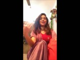 Arshi Khan Indian Girl Second Viral Video For Shahid Afridi !! 22 Feb 2016