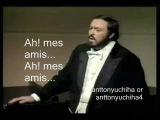 Luciano Pavarotti - Ah! Mes Amis - La Fille du R