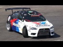 600 HP RWD Lancer EVO X HUGE Anti-Lag Sounds Drifting!