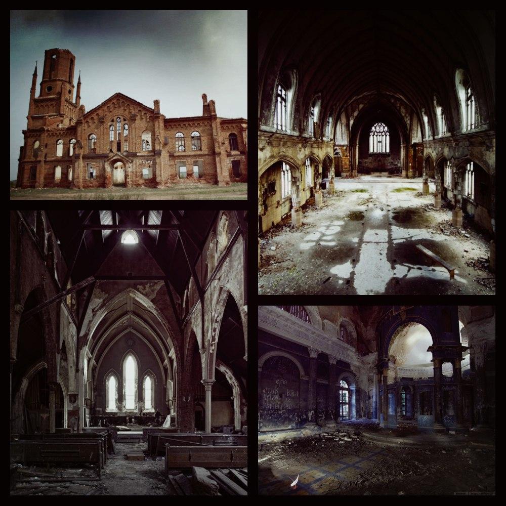 Заброшенная католическая церковь H9Go-rYD9L0