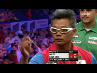 Wales vs Hong Kong (PDC World Cup of Darts 2015 / First Round)