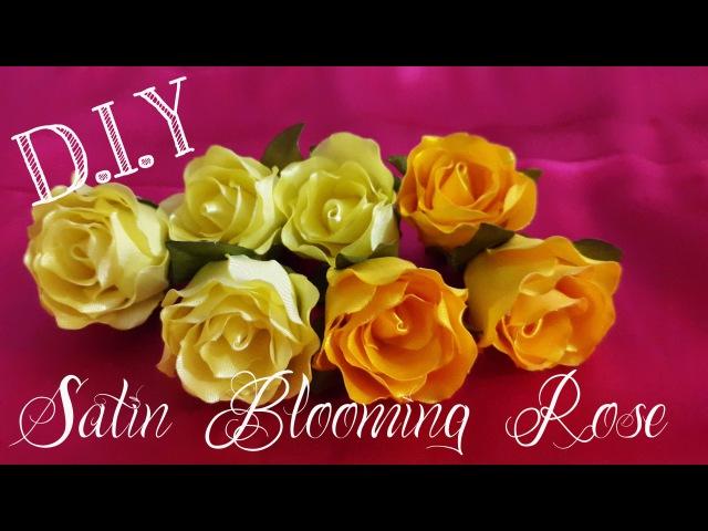 D I Y Satin Blooming Rose MyInDulzens