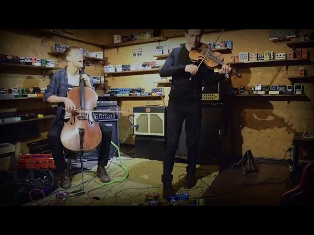 Radio Kamerger - Enter Sandman (Metallica cello violin cover) in PedalZoo