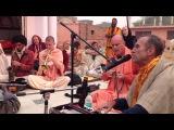 HG Bada Haridas Prabhus kirtan at the Prema Sarovara 5.11.2013