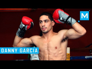 Danny Garcia Conditioning Training & Pad Work | Muscle Madness