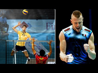 Best Volleyball Actions from defence to offence.