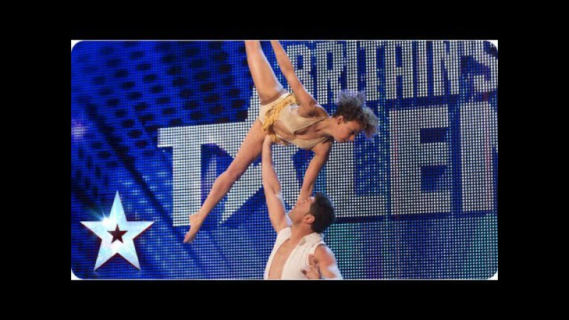 Martin and Marielle astound with their dancing | Week 4 Auditions | Britain's Got Talent 2013