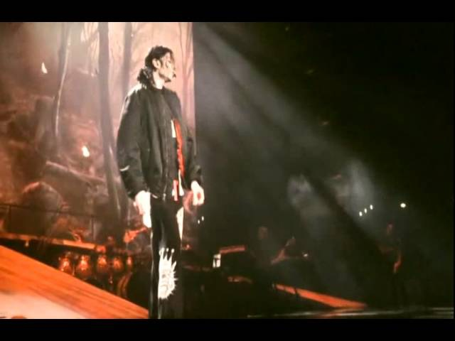 Michael Jackson - Earth Song (live rehearsal) this is it - HD