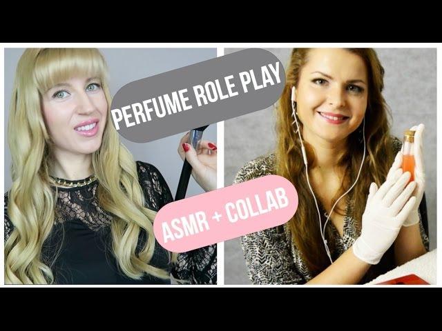 ASMR Perfume ROLE PLAY (pesonal attention) collab with Sasha ASMR