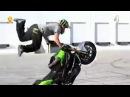 Трюки на мотоциклах. Жесть
