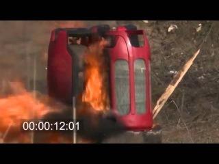 Реальные испытания взрывобезопасных газовых баллонов