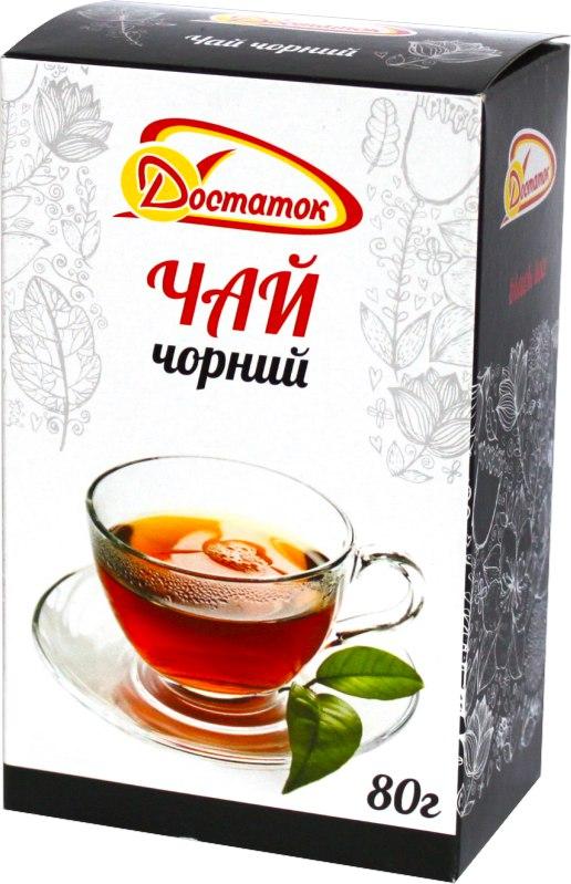 Чай чорний, Достаток, 80 г