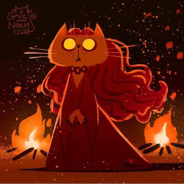 P48c4Z7 omA - Коты из сериала «Игра престолов»
