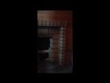 Кладка шамотного кирпича баня
