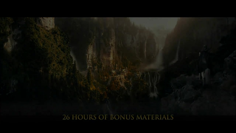 Властелин колец Братство кольца The Lord of the Rings The Fellowship of the Ring 2001 Blu ray трейлер трилогии