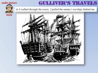 Learn English Through Story- Gullivers Travels - (Level 5) - [Subtitled]