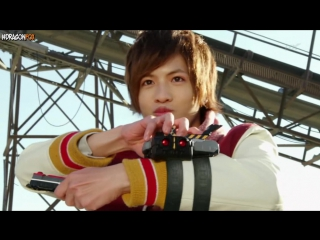 [dragonfox] Ressha Sentai ToQger - 01 (RUSUB)