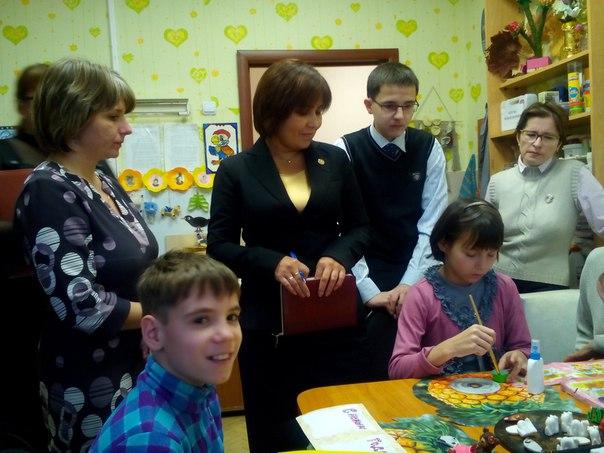 Детский омбудсмен Татарстана посетила социальный приют в Зеленодольске