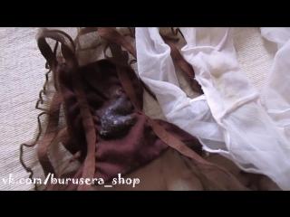 Фетиш - ношенные трусики из ткани-сеточки