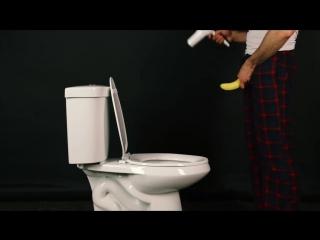 Как парни ходят по утру в туалет