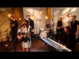 Gabrielle Aplin performing Can't Feel My Face on The Weekend Aled Jones ITV1