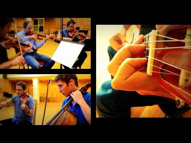 Roland Dyens - Tango en Skai (guitar string quar
