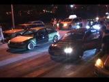 I-Streetrace.com - Team AMR Civic EK VS The PaperClip Civic EG!!!!