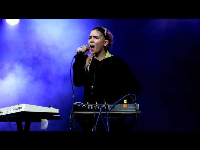 Grimes Be A Body @ Rock En Seine 2012