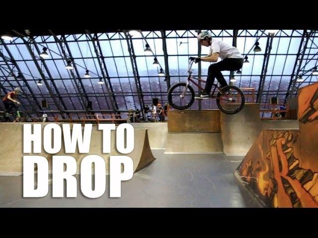 How to Drop BMX, MTB (Как сделать Дроп на велосипеде БМХ, МТБ) | Школа BMX Online 18