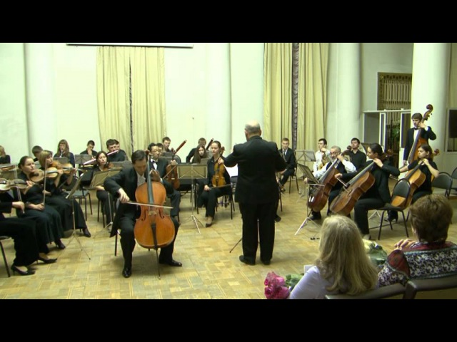 Eugene Prokoshin plays Myaskovsky Cello Concerto with