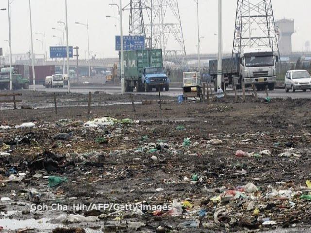 Загрязнение почвы в Китае государственная тайна