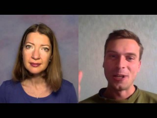 PVi | Anna Leonti and Pavel Verbnyak in English. 10.10.2015