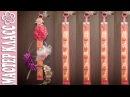 Органайзер для ободков и заколок Канзаши / Подарок к Новому Году / Мастер Класс
