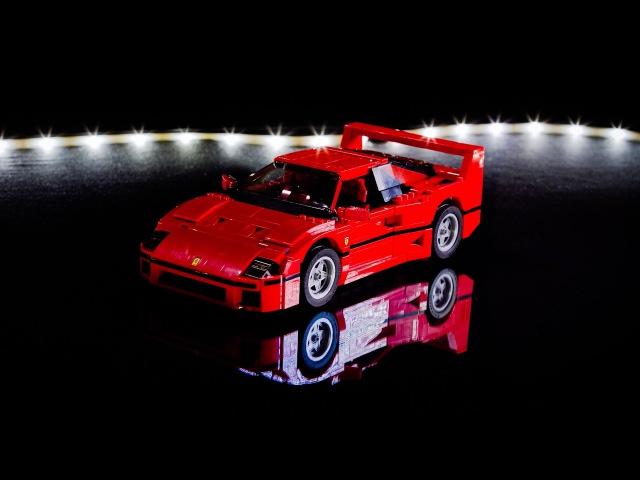 LEGO Ferrari F40 Time-lapse