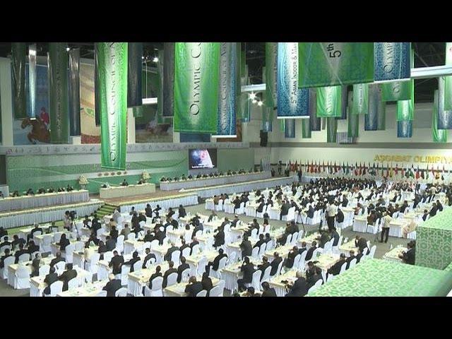 Asya'nın Olimpiyat meşalesi Türkmenistan'da yanıyor - focus