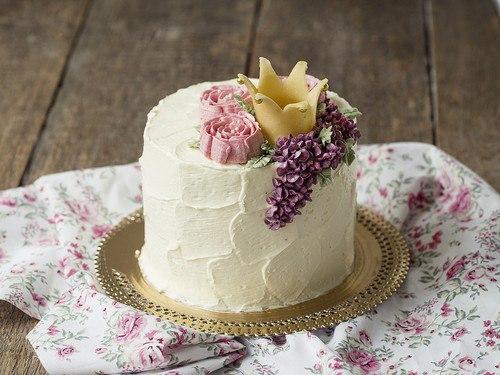 Как сделать на торте мазки из крема