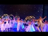 Вальс цветов с Кремлевским балетом в библиотеке МГУ им. Ломоносова