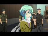 [Anidub] Мастера меча онлайн ТВ-2 - сезон 4 серия  / Sword Art Online TV-2 (GGO) [JAM, Nika Lenina]