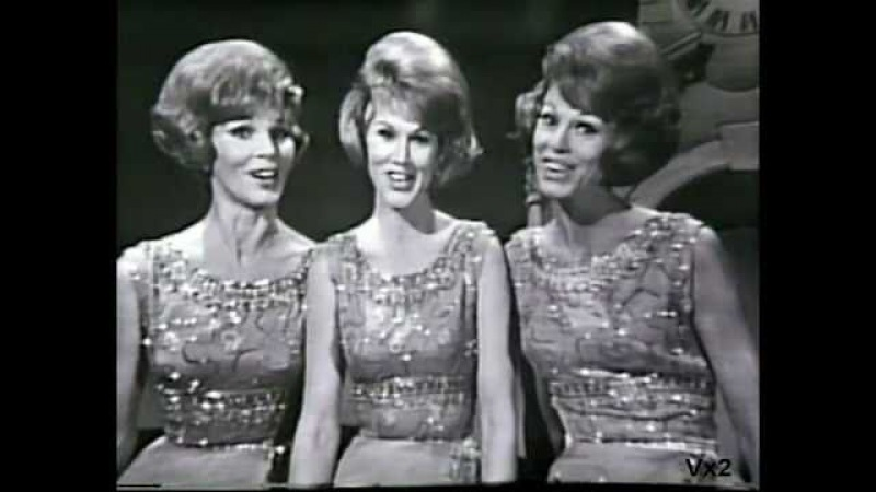 New Year Greetings from The McGuire Sisters: Let's Start the New Year Right
