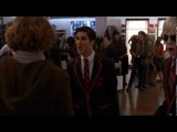 GLEE- When I get you alone by Blaine and the Warblers Full music video
