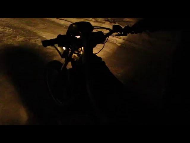 Итальянский самурай Yamaha Dt50