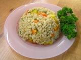 Перловка с овощами и зеленью - видео рецепт